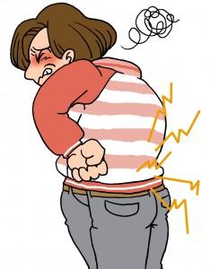 腰痛イメージ