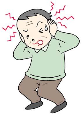 頭痛イメージ