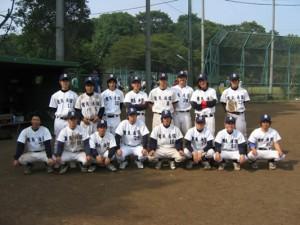 大学の軟式野球